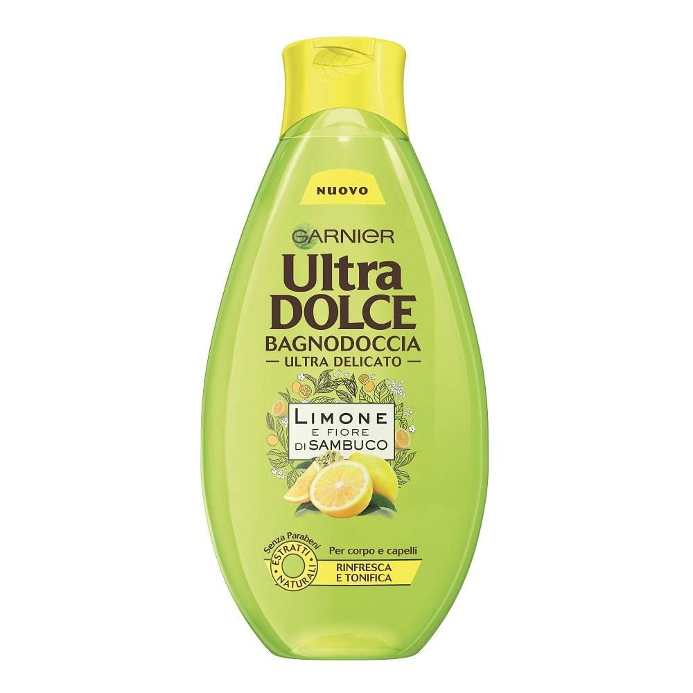 شامپو بدن گارنیه سری Ultra Dolce مدل لیمو حجم 500 میلی لیتر -  - 3