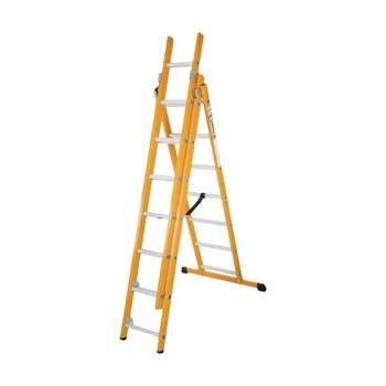 نردبان 21 پله آلوم پارس پله مدل الگانت 3
