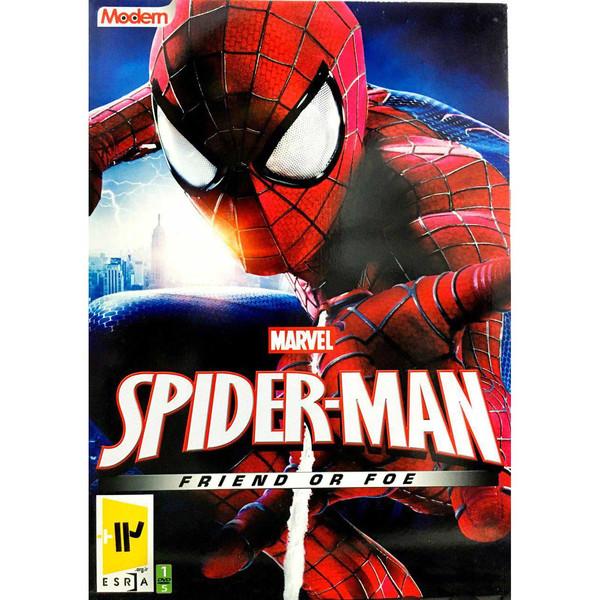 بازی SPIDER MAN FRIEND OR FEO مخصوص کامپیوتر