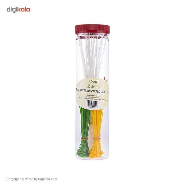 نگهدارنده کابل لوکین مدل Electrical Assorted Cable Ties main 1 1