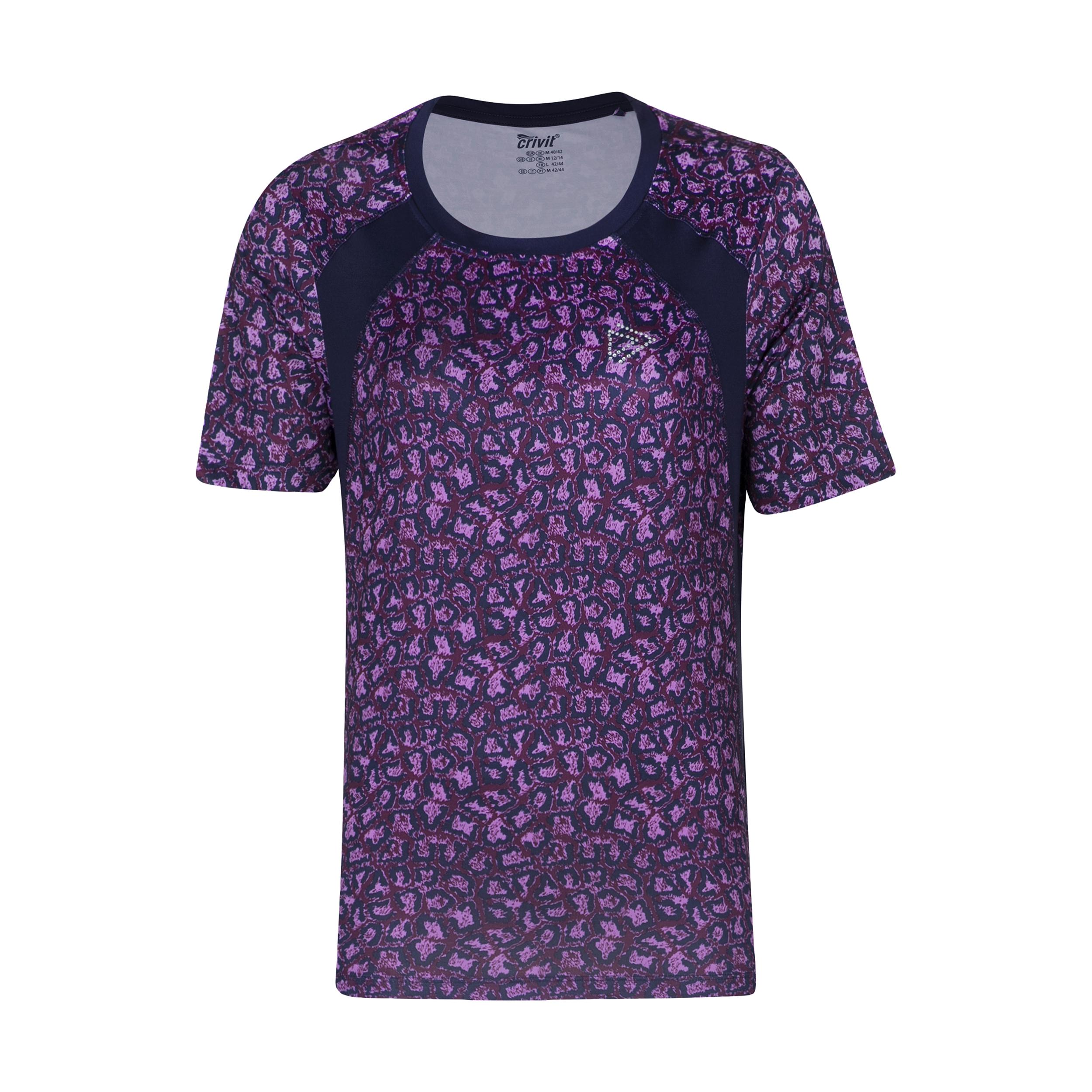 تی شرت  ورزشی زنانه کرویت مدل 1810