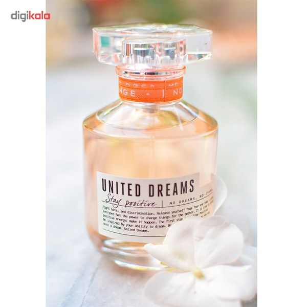 ادو تویلت زنانه بنتون مدل United Dreams Stay Positive حجم 80 میلی لیتر