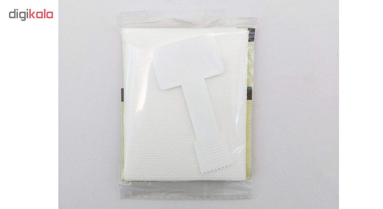 موم سرد پروین مدل Honey حجم 300 گرم همراه با کاردک، پد و کرم نرم کننده و مرطوب کننده  main 1 7