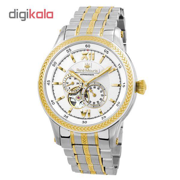 ساعت مچی  عقربه ای مردانه رنه موریس مدل Corona 70106 RM4