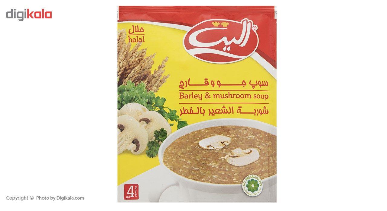 سوپ نیمه آماده جو و قارچ  الیت مقدار 65 گرم main 1 2