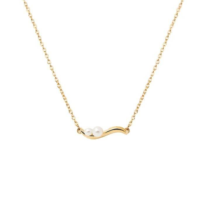 آویز گردنبند طلا 18 عیار زنانه قیراط مدل GH60