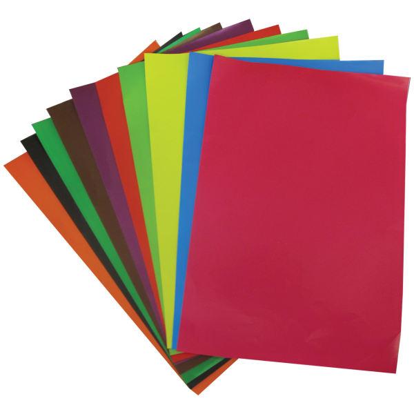 کاغذ رنگی مدل 7598 سایز 35×24 سانتی متر بسته 10 عددی
