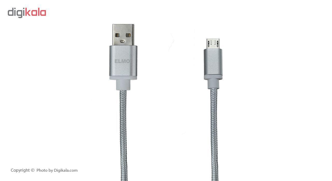 کابل  شارژ، انتقال اطلاعات و تبدیل USB به MicroUSB  المو مدل  X-S-N طول 1 متر main 1 10