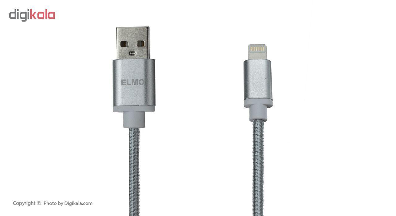 کابل شارژ، انتقال اطلاعات و تبدیل USB به لایتنینگ المو مدل  X-I-N طول 1 متر main 1 5