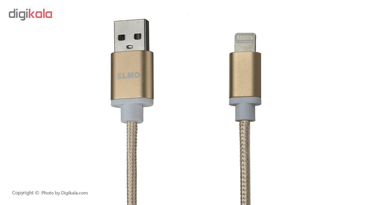 کابل شارژ، انتقال اطلاعات و تبدیل USB به لایتنینگ المو مدل  X-I-N طول 1 متر main 1 6
