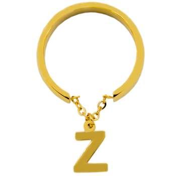 انگشتر زنانه بهارگالری طرح حرف Z
