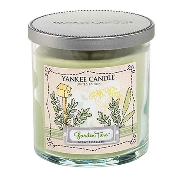 شمع کوچک ینکی کندل مدل باغ رویایی