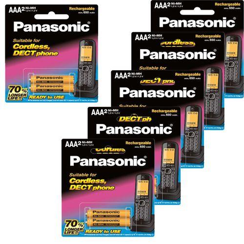 باتری نیم قلم پاناسونیک مدل BK-4LDAW/2BT بسته  12 عددی