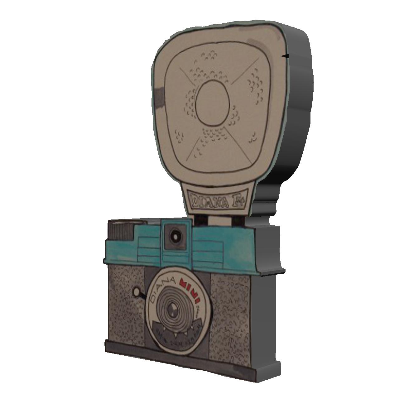تصویر پیکسل طرح دوربین عکاسی مدل Camera18