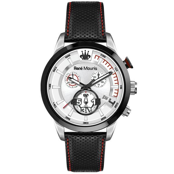 کد تخفیف                                      ساعت مچی عقربه ای مردانه رنه موریس مدل Vitesse 90118 RM1