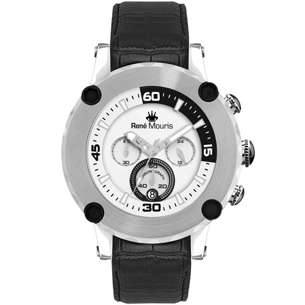 کد تخفیف                                      ساعت مچی عقربه ای مردانه رنه موریس مدل Santa Maria 90101 RM1