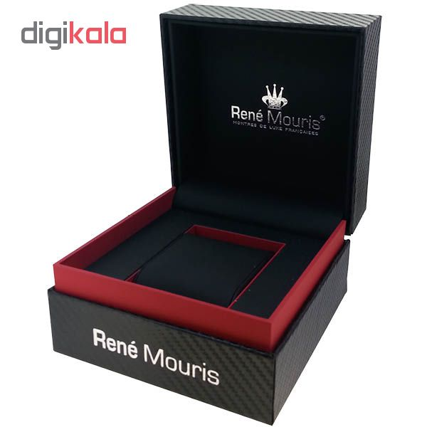 ساعت مچی عقربه ای مردانه رنه موریس مدل Santa Maria 90101 RM1
