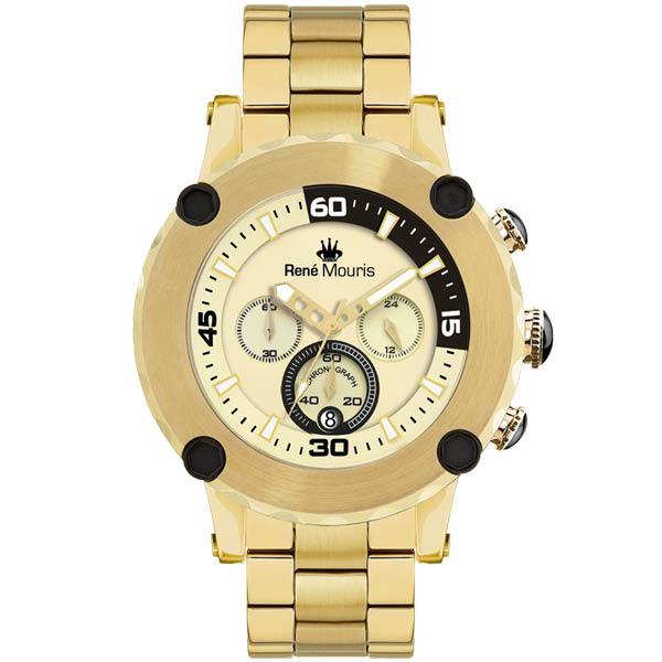 کد تخفیف                                      ساعت مچی عقربه ای مردانه رنه موریس مدل Santa Maria 90102 RM7