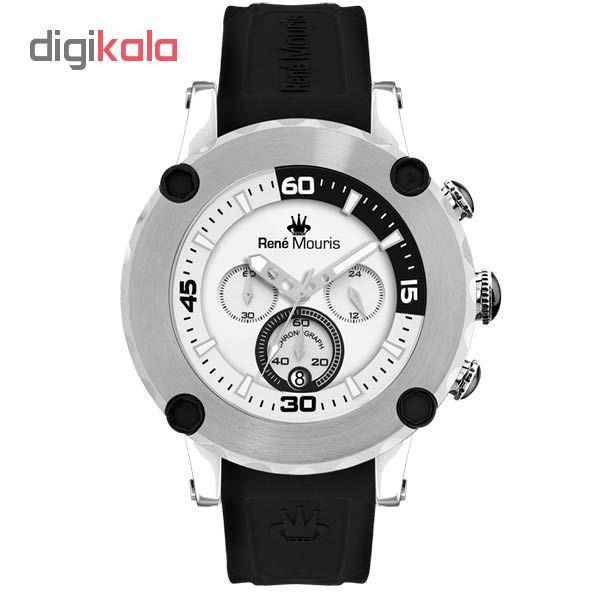 خرید ساعت مچی عقربه ای مردانه رنه موریس مدل Santa Maria 90103 RM1