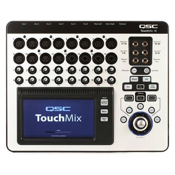 میکسر دیجیتال کیو اس سی مدل TouchMix-16