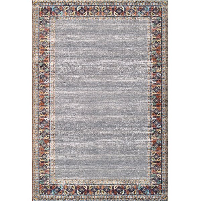 فرش ماشینی فرش ابریشمی کرامتیان طرح آرتینه کد 5932