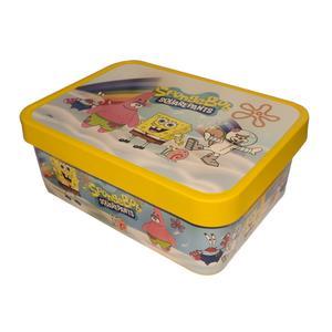 جعبه اسباب بازی مدل باب اسفنجی