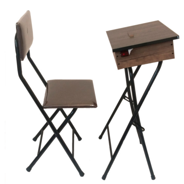 میز و صندلی تاشو نماز مدل یاس 110 باکس دار