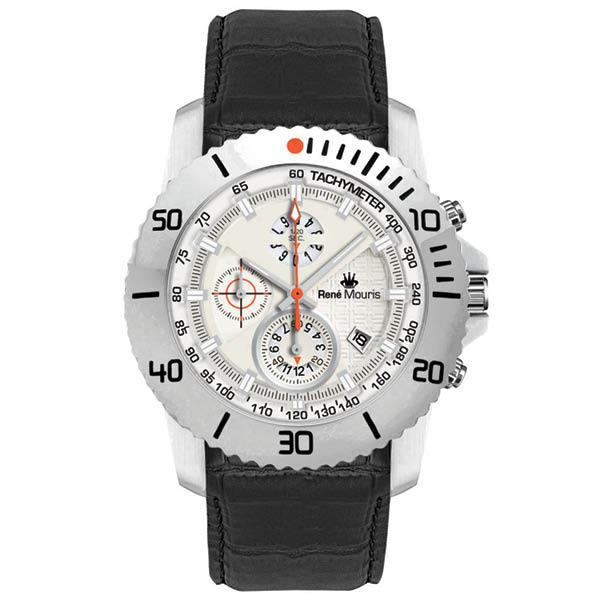 کد تخفیف                                       ساعت مچی عقربه ای مردانه رنه موریس مدل L.I.F.L 90113 RM1