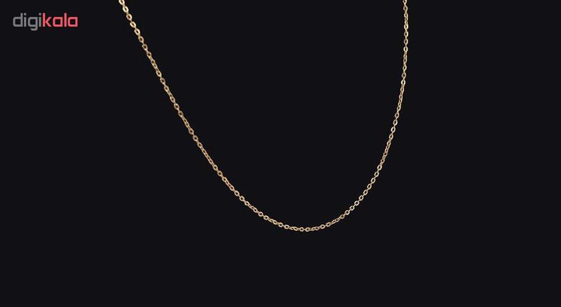 زنجیر طلا 18 عیار گالری مرجان مدل 0873