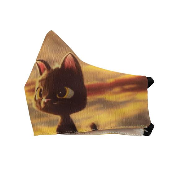 ماسک تزئینی کالای ورزشی پروین طرح گربه سیاه