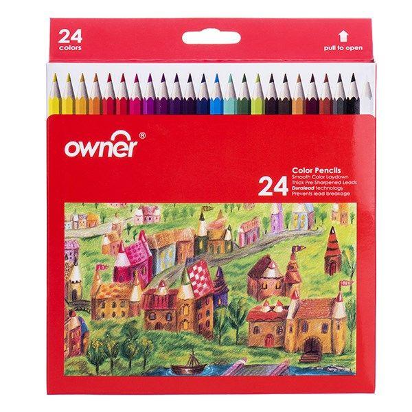 مداد رنگی 24 رنگ اونر