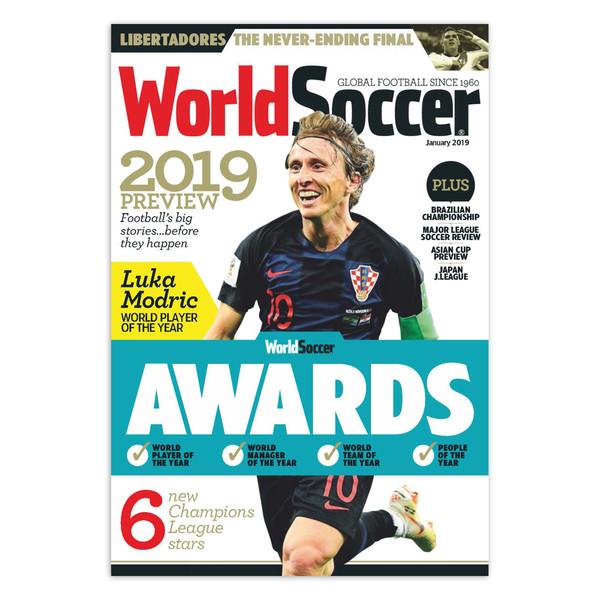 مجله World Soccer ژانویه 2019