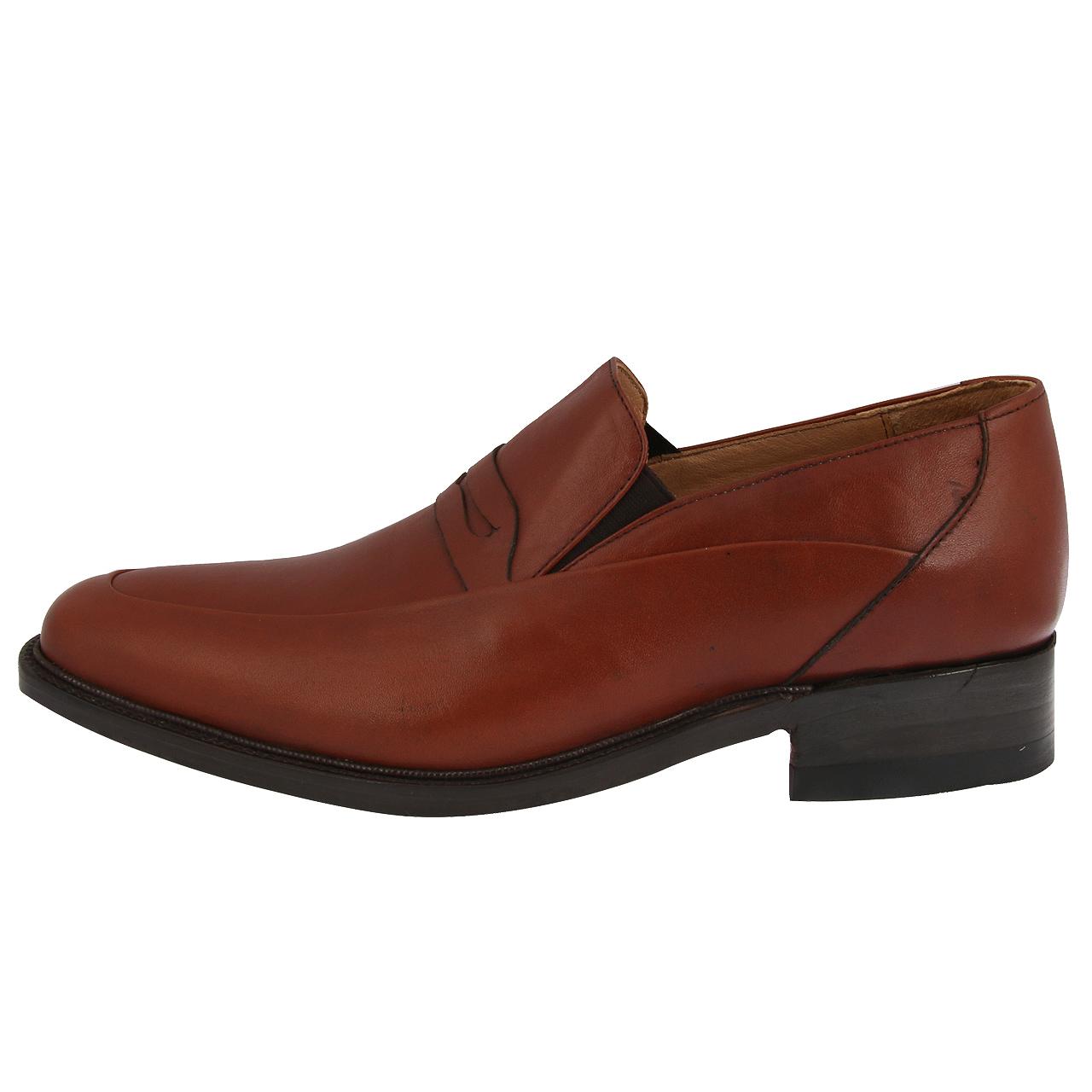 کفش چرم مردانه مدل کلاسیک کد 228101207