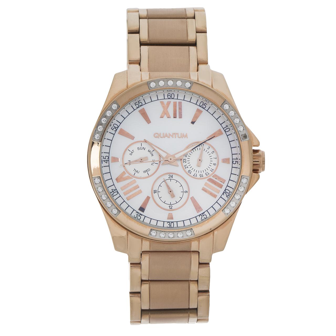 ساعت مچی عقربه ای زنانه کوانتوم مدل IML431.420