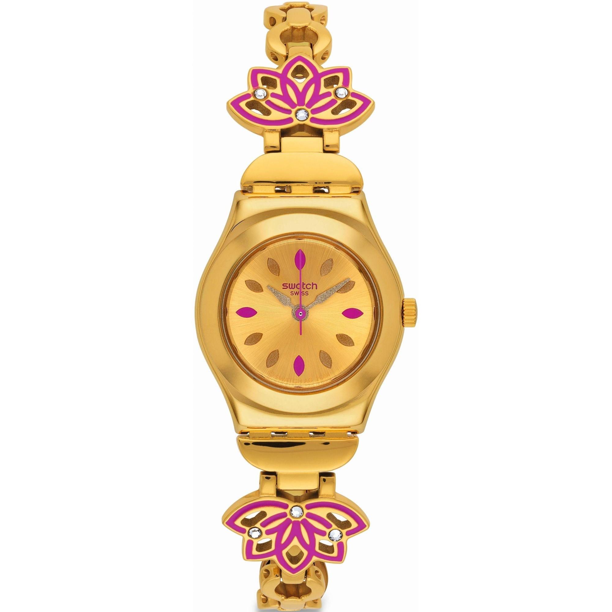 ساعت مچی عقربه ای زنانه سواچ مدل YSG140G 25