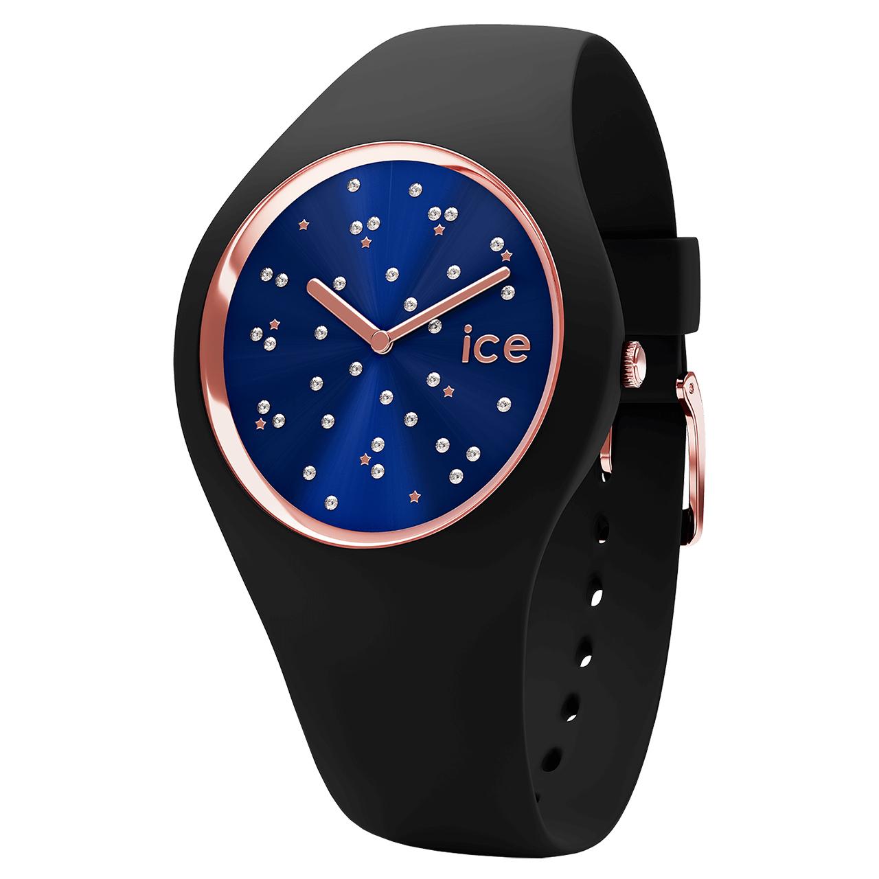 ساعت مچی عقربه ای آیس واچ مدل ICE COSMOS-STAR DEEP BLUE-MEDIUM