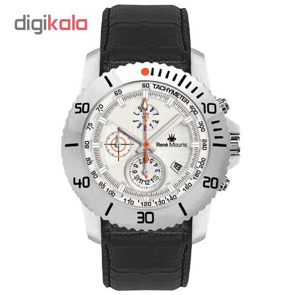 خرید ساعت مچی عقربه ای مردانه رنه موریس مدل L.I.F.L 90113 RM1