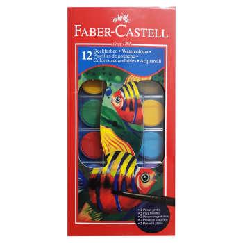 آبرنگ 12 رنگ فابرکاستل کد 125021