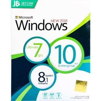 مجموعه سیستم عامل های ویندوز 7،8.1 و 10 نشر جی بی تیم |
