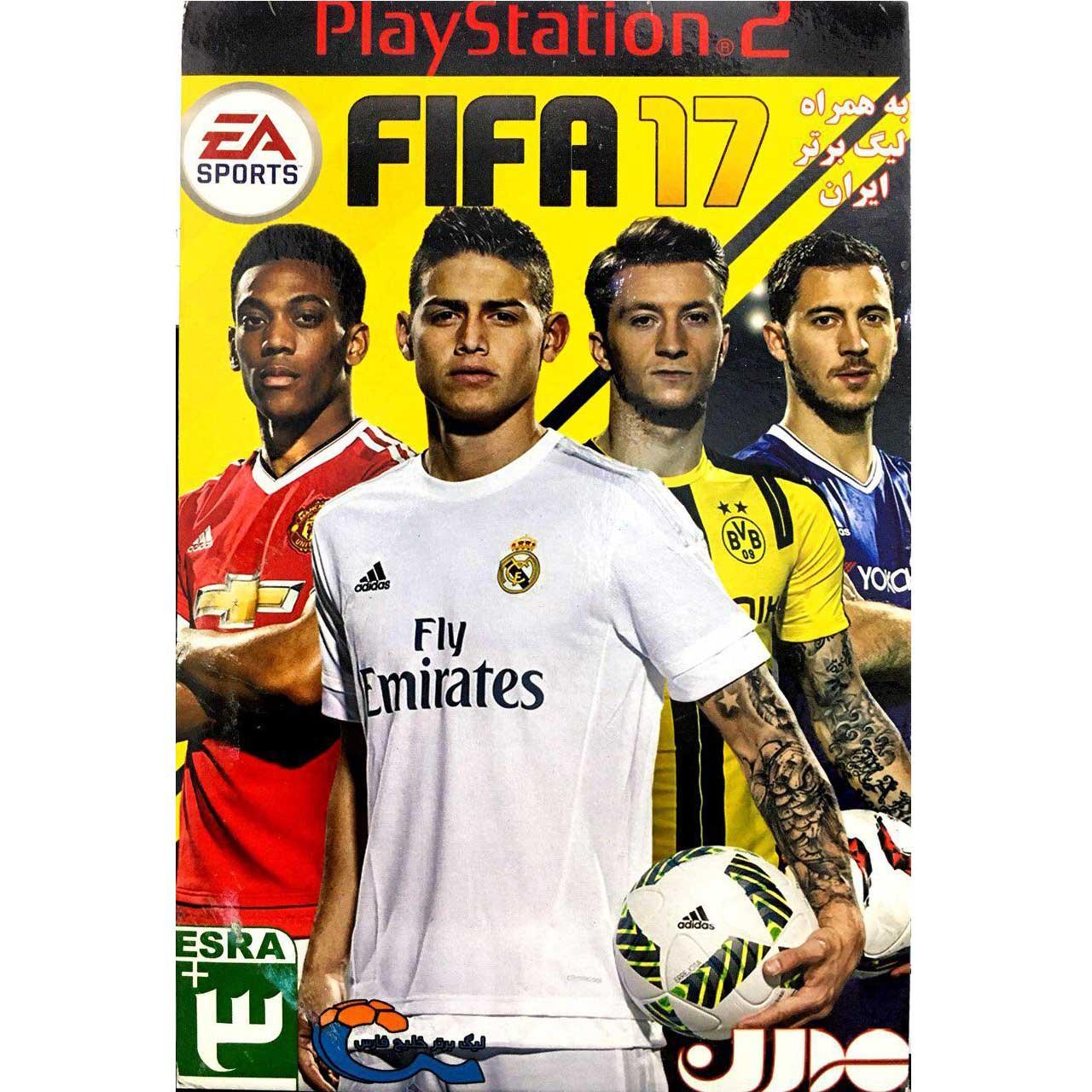 بازی FIFA 17 به همراه لیگ برتر ایران مخصوص پلی استیشن 2