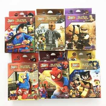 لگو سری super heroes مدل joy مجموعه 6 عددی |