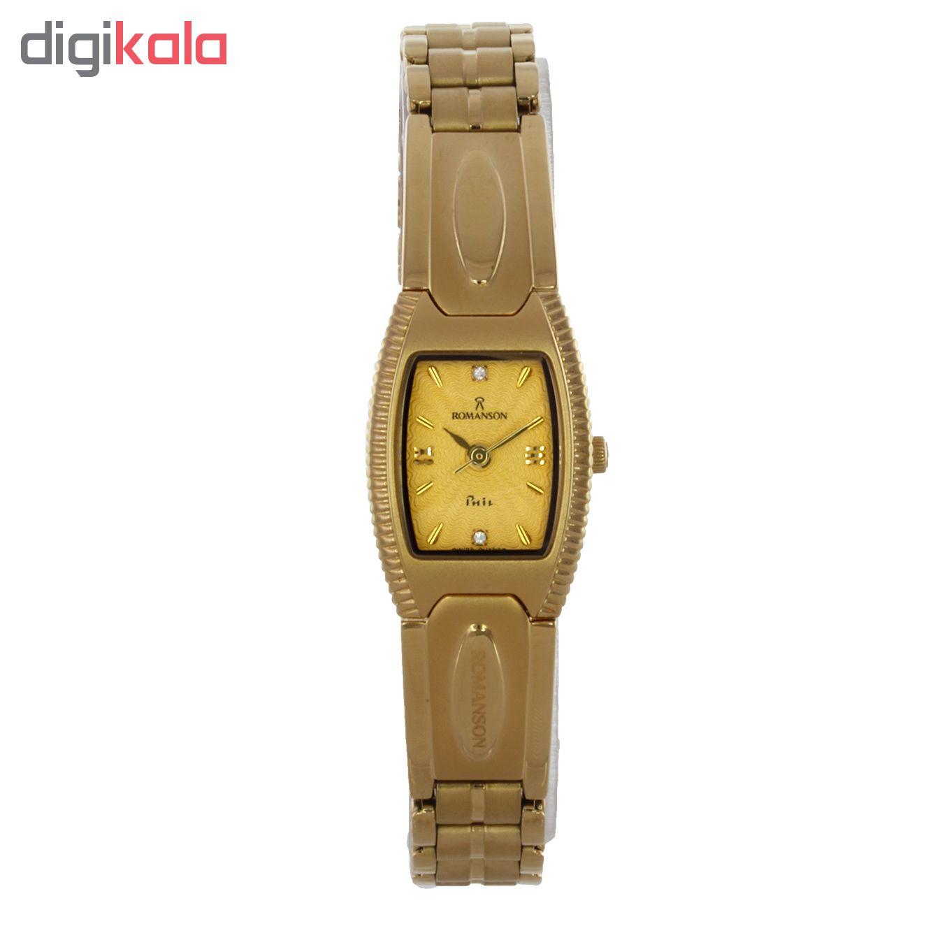 ساعت زنانه برند رومانسون مدل NM0546LL1GA51G