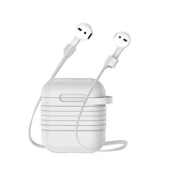 کاور محافظ باسئوس مدل holder cable مناسب برای Apple AirPods