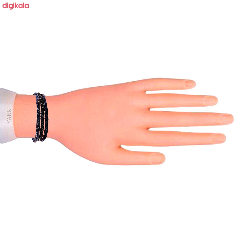 دستبند چرم وارک مدل دایان کد rb352 main 1 3