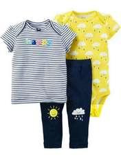 ست 3 تکه لباس نوزادی دخترانه کارترز کد 112 -  - 1