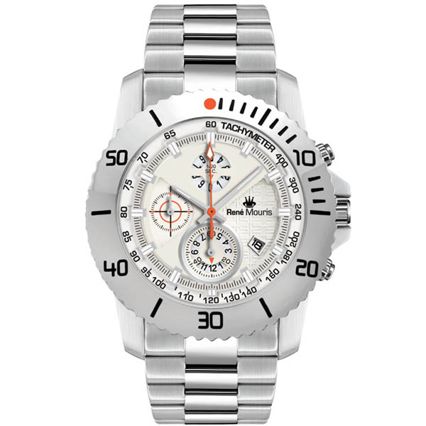 ساعت مچی عقربه ای مردانه رنه موریس مدل L.I.F.L 90114 RM1