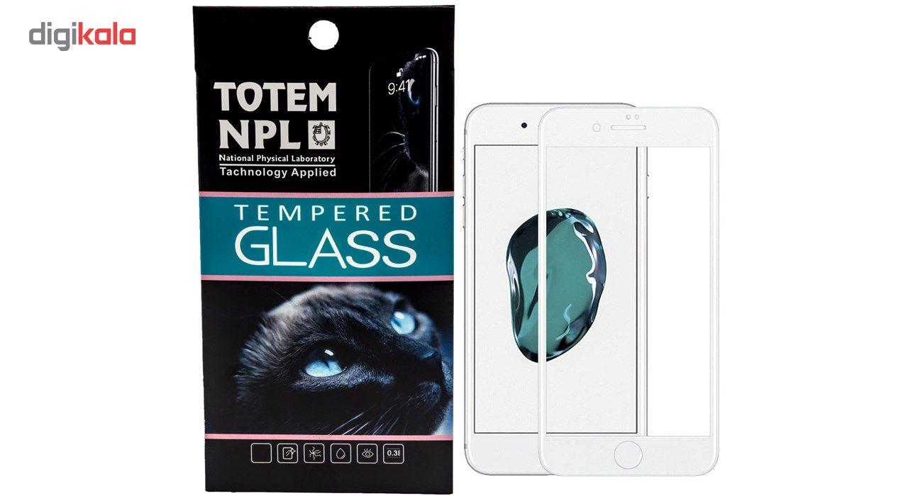 محافظ صفحه نمایش تمام چسب شیشه ای مدل 5D مناسب برای گوشی اپل آیفون 7 main 1 3