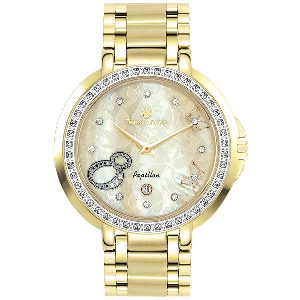 ساعت مچی عقربه ای زنانه رنه موریس مدل Papillon 50111 RM6 18