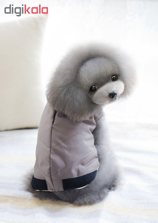 خرید                      لباس سگد مدل over coat 1 کد 1 سایز XL
