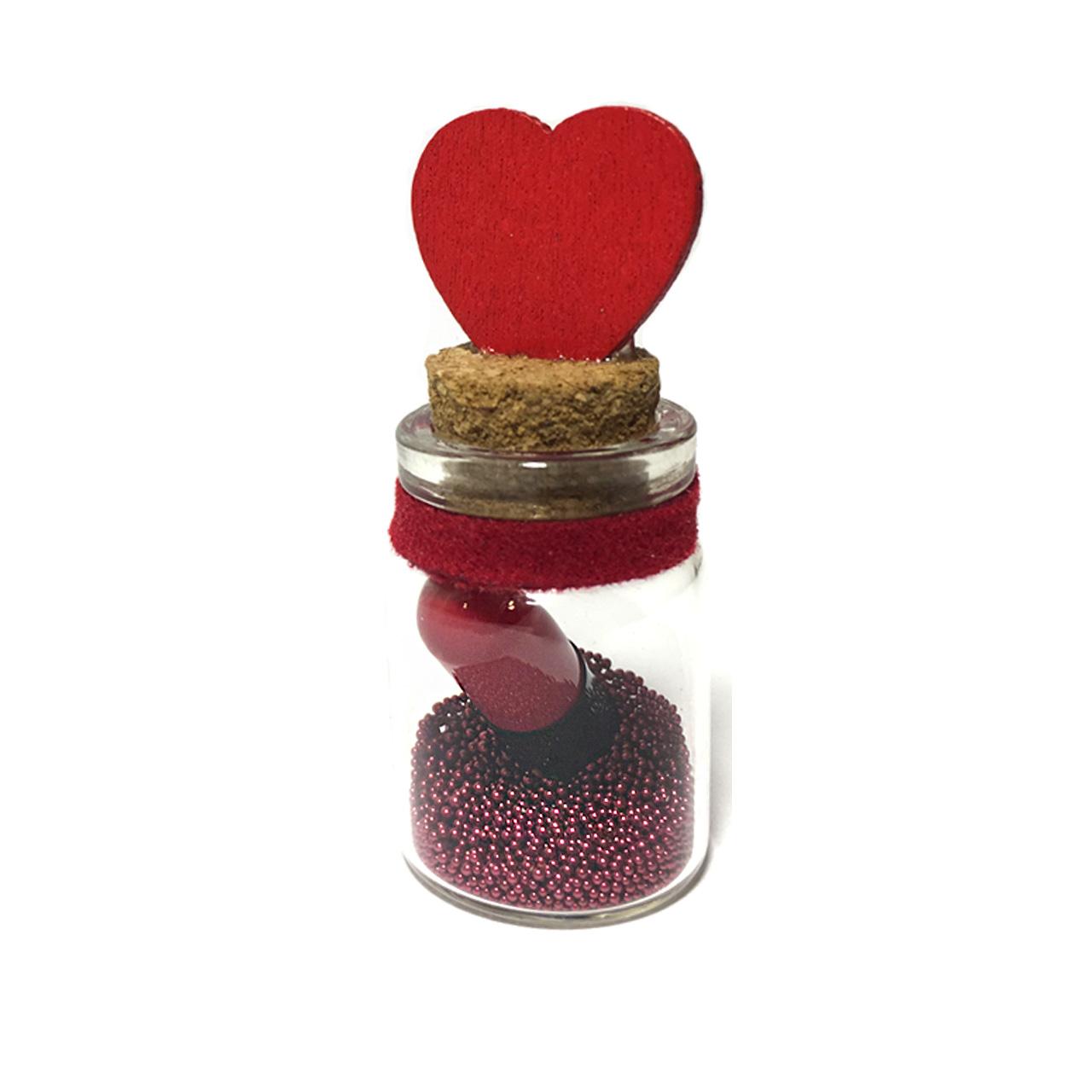 گیفت طرح کپسول عشق مدل Bottle Love07